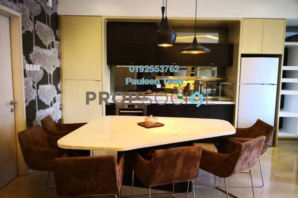For Rent Condominium at VERVE Suites, Mont Kiara Freehold Fully Furnished 1R/1B 4.5k