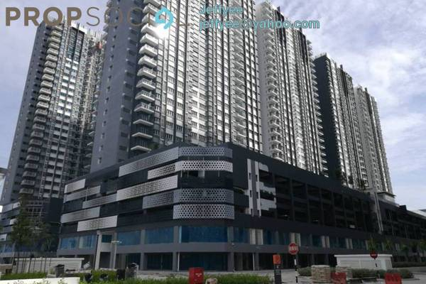 For Sale Condominium at Savanna Executive Suites, Southville City Freehold Semi Furnished 3R/2B 400k