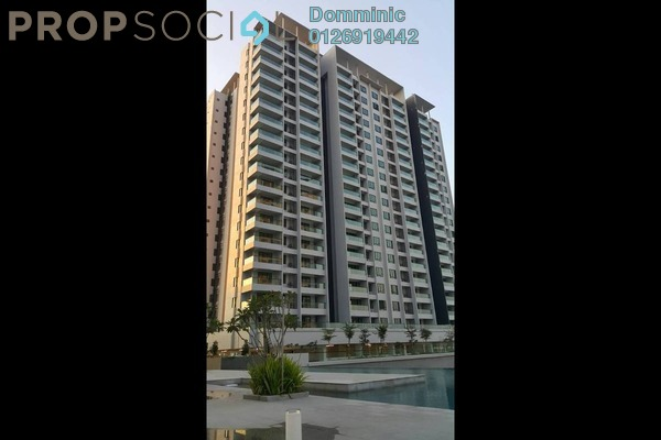 For Rent Condominium at Paragon 3, Bandar Putra Permai Freehold Fully Furnished 3R/2B 2.1k