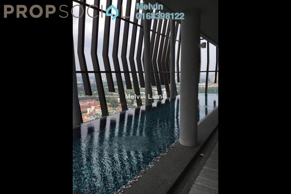 For Sale Serviced Residence at Twin Arkz, Bukit Jalil Freehold Semi Furnished 1R/1B 680k