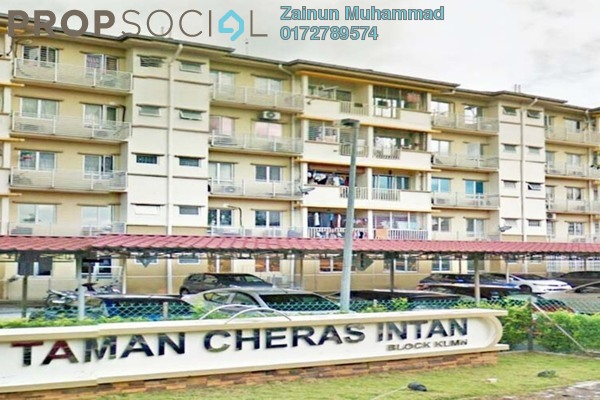 For Sale Apartment at Taman Cheras Intan, Batu 9 Cheras Freehold Unfurnished 3R/2B 200k