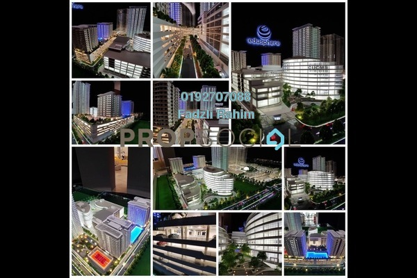 For Sale Condominium at Edusphere, Cyberjaya Freehold Fully Furnished 1R/1B 270k