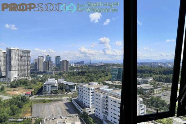 For Sale Condominium at Kanvas, Cyberjaya Freehold Semi Furnished 1R/1B 304k