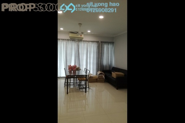 For Sale Townhouse at Aqua Villa, Shah Alam Freehold Semi Furnished 3R/4B 963k