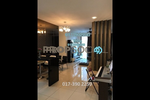 For Sale Condominium at USJ One Park, UEP Subang Jaya Freehold Semi Furnished 4R/3B 580k