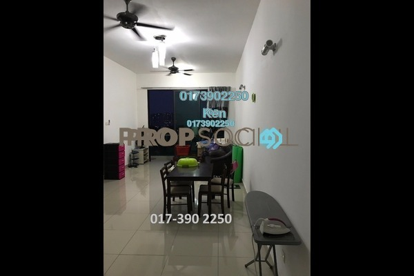 For Sale Condominium at USJ One Park, UEP Subang Jaya Freehold Semi Furnished 4R/3B 560k