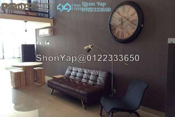 For Rent Condominium at Subang SoHo, Subang Jaya Freehold Fully Furnished 0R/1B 1.6k