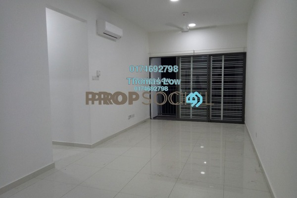 For Rent Serviced Residence at Seasons Garden Residences, Wangsa Maju Freehold Semi Furnished 3R/2B 1.4k