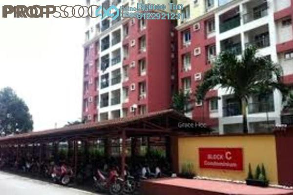 For Sale Apartment at South City Plaza, Seri Kembangan Freehold Semi Furnished 3R/2B 260k