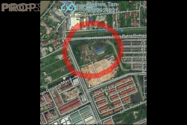 For Sale Land at Taman Mas Sepang, Puchong Freehold Unfurnished 0R/0B 669k