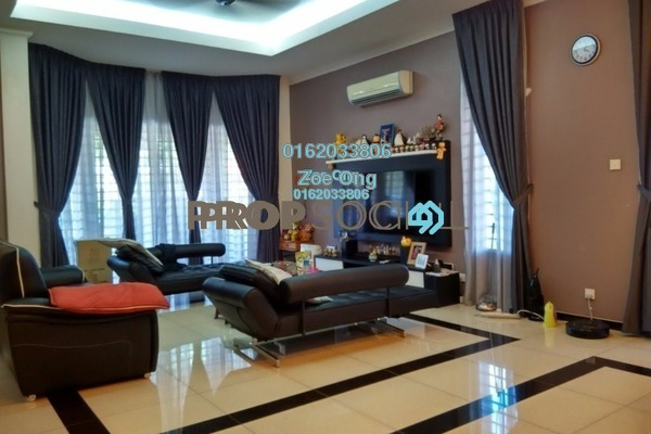 For Sale Semi-Detached at Section 8, Kota Damansara Freehold Semi Furnished 5R/4B 2.3m