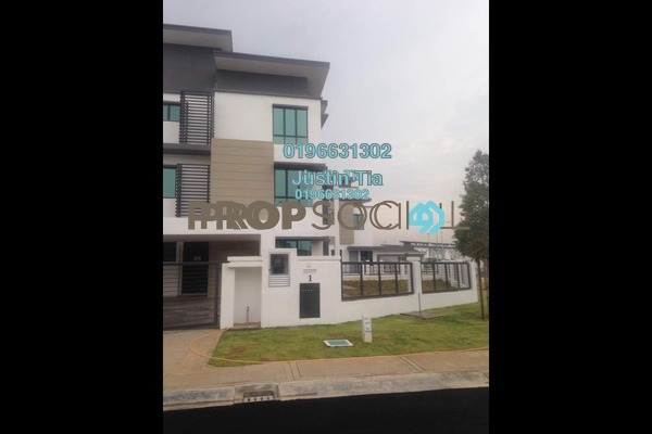 For Sale Superlink at Zircona, Alam Impian Freehold Fully Furnished 6R/7B 1.85m