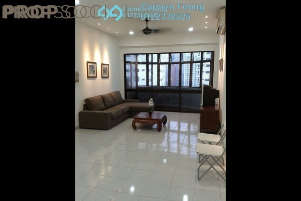 For Rent Condominium at Angkasa Impian 1, Bukit Ceylon Leasehold Fully Furnished 4R/3B 3.3k