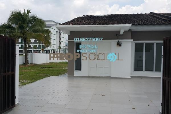 For Sale Terrace at Taman Sri Andalas, Klang Freehold Unfurnished 4R/2B 508k