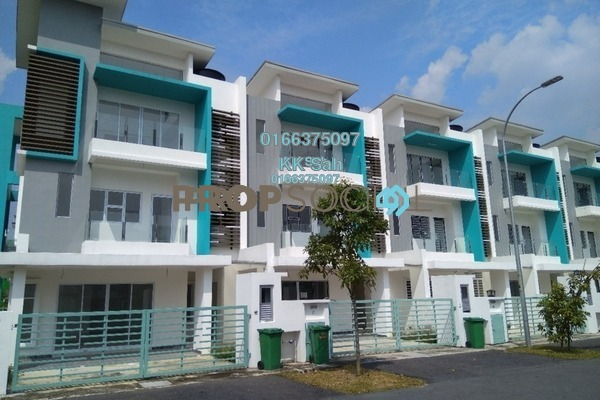 For Sale Superlink at Kajang East, Semenyih Leasehold Unfurnished 5R/4B 680k