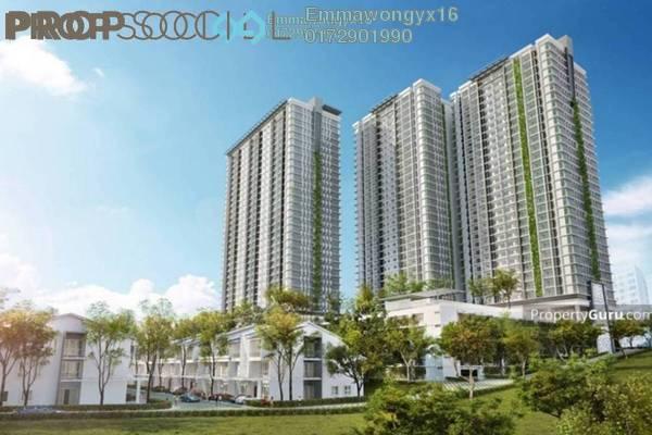 For Sale Condominium at Scenaria, Segambut Freehold Semi Furnished 2R/2B 690k