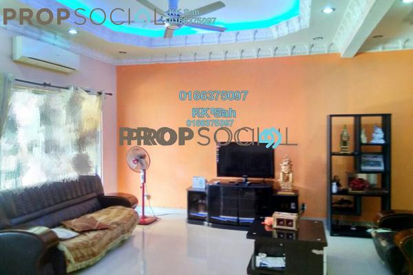 For Sale Link at Bandar Puteri Klang, Klang Freehold Semi Furnished 4R/3B 525k