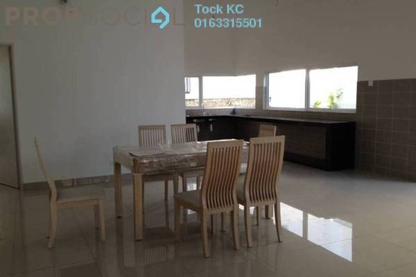 For Rent Semi-Detached at Garden Residence, Cyberjaya Freehold Semi Furnished 4R/5B 3k