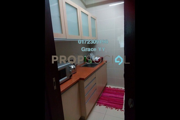 For Rent Condominium at Gardenview Residence, Cyberjaya Freehold Fully Furnished 3R/2B 2.2k