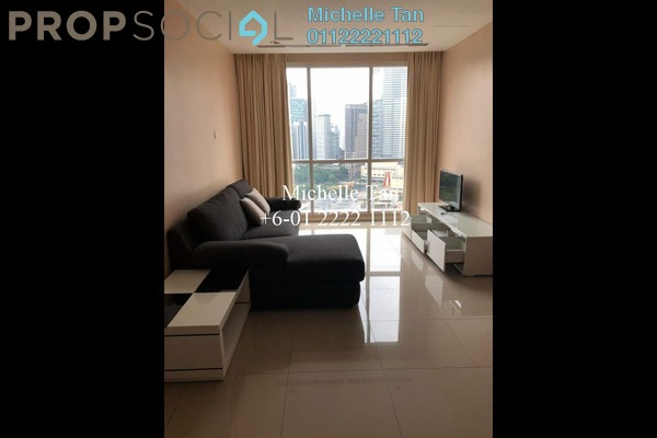For Rent Condominium at Binjai 8, KLCC Freehold Fully Furnished 1R/1B 2.5k