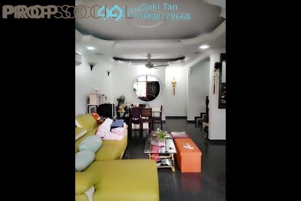 For Sale Terrace at Taman Bukit Maluri, Kepong Freehold Semi Furnished 4R/3B 945k