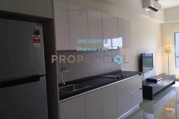 For Rent Condominium at The Wharf, Puchong Freehold Fully Furnished 1R/1B 1.25k