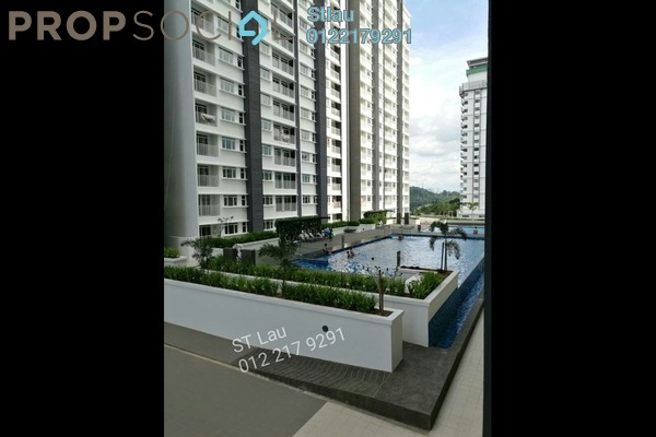 For Rent Condominium at M3 Residency, Gombak Freehold Semi Furnished 3R/2B 1.6k