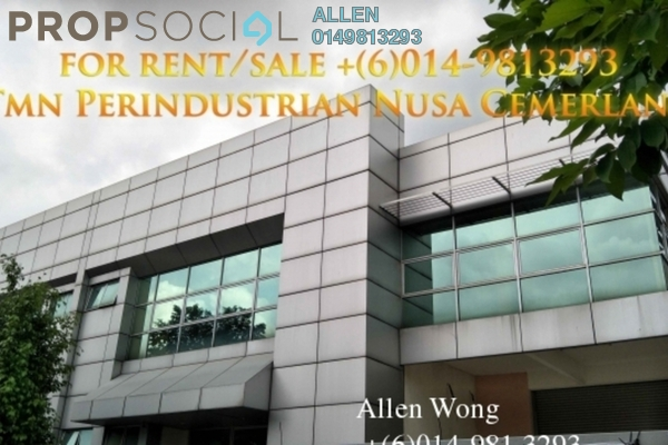 For Sale Factory at Nusajaya Tech Park, Iskandar Puteri (Nusajaya) Freehold Semi Furnished 0R/0B 3.36m