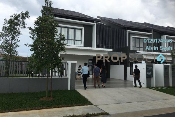 For Sale Terrace at BSC Waterfront, Bandar Seri Coalfields Freehold Unfurnished 4R/4B 770k