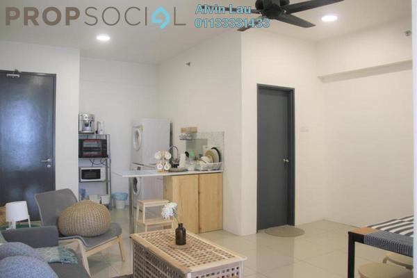 For Rent Serviced Residence at Menara U2, Shah Alam Freehold Semi Furnished 2R/1B 1.1k