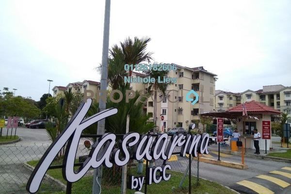 For Rent Apartment at Bandar Botanic, Klang Freehold Semi Furnished 3R/2B 1k