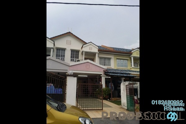 For Sale Terrace at BP10, Bandar Bukit Puchong Freehold Semi Furnished 4R/3B 630k