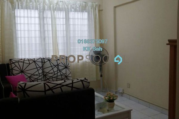 For Rent Apartment at Taman Suria Pendamar, Port Klang Freehold Semi Furnished 3R/2B 600translationmissing:en.pricing.unit