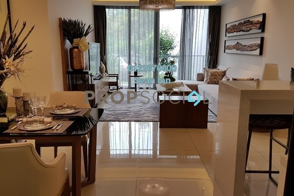 For Sale Condominium at Agile Mont Kiara, Dutamas Freehold Semi Furnished 3R/2B 1.26m