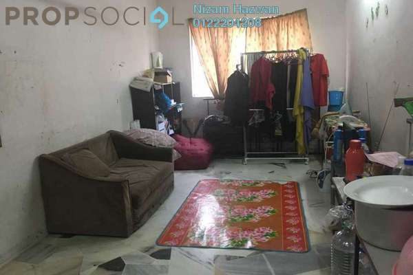 For Sale Apartment at PKNS Seksyen 7 Flat, Shah Alam Freehold Unfurnished 3R/2B 220k