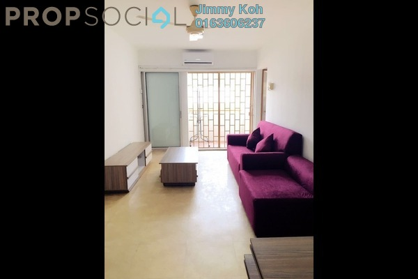 For Rent Condominium at Mandy Villa, Segambut Freehold Semi Furnished 3R/2B 1.4k
