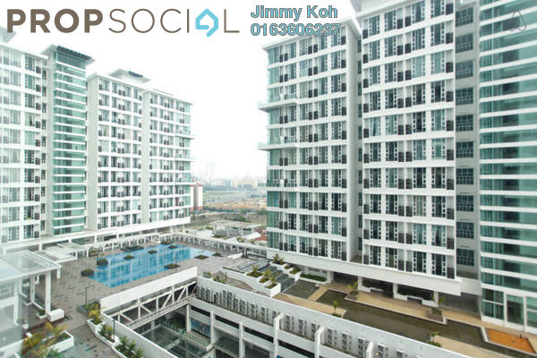 For Rent Condominium at The Scott Soho, Old Klang Road Freehold Fully Furnished 1R/2B 1.8k