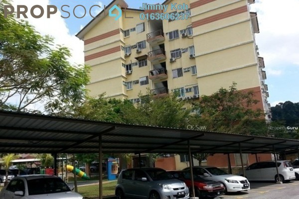 For Rent Condominium at Vista Hatamas, Cheras Freehold Fully Furnished 3R/2B 1.05k