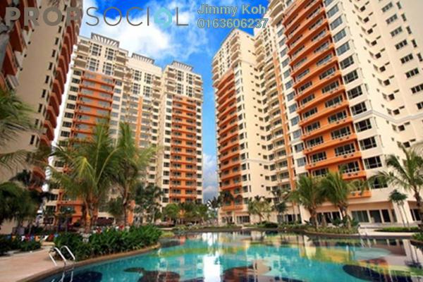 For Rent Condominium at East Lake Residence, Seri Kembangan Freehold Fully Furnished 3R/2B 1.95k