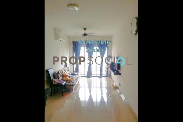 For Rent Serviced Residence at Alam Sanjung, Shah Alam Freehold Semi Furnished 3R/2B 1.4k