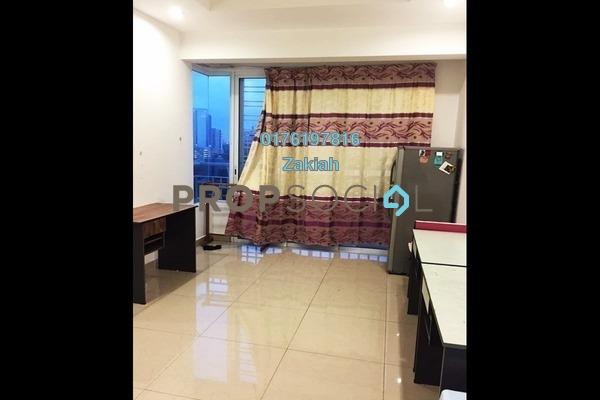 For Rent Serviced Residence at Menara U2, Shah Alam Freehold Fully Furnished 2R/1B 1.35k