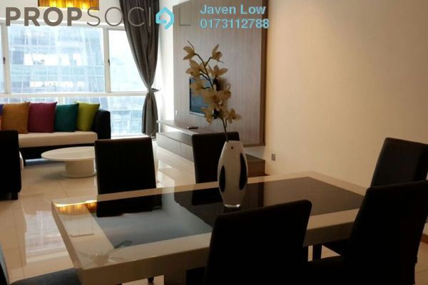 For Rent Condominium at Suasana Sentral Loft, KL Sentral Freehold Fully Furnished 3R/3B 4k