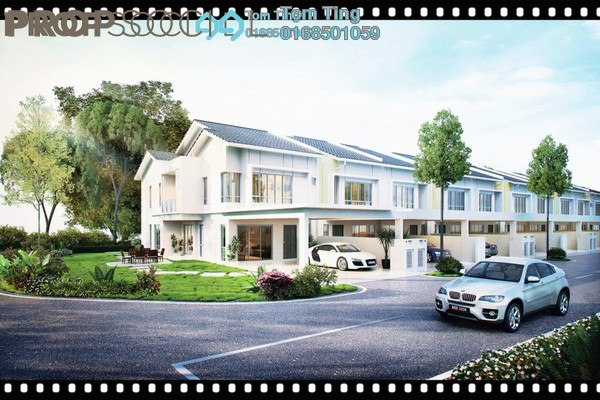 For Sale Terrace at Alpinia Residence, Putra Nilai Freehold Unfurnished 5R/4B 564k