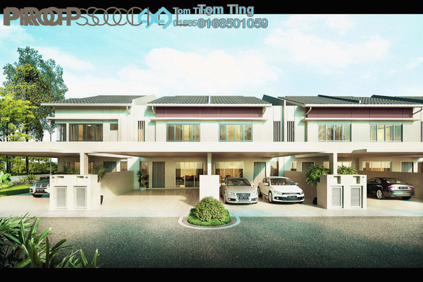 For Sale Terrace at Sendayan Merchant Square, Bandar Sri Sendayan Freehold Unfurnished 5R/4B 564k