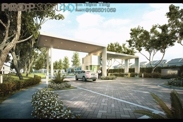 For Sale Terrace at Lavender Heights, Senawang Freehold Unfurnished 5R/4B 564k