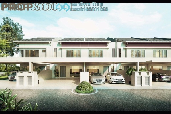 For Sale Terrace at Taman Choong Loong, Seremban Freehold Unfurnished 5R/4B 564k