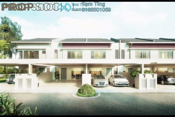 For Sale Terrace at Green Street Homes, Seremban 2 Freehold Unfurnished 5R/4B 564k