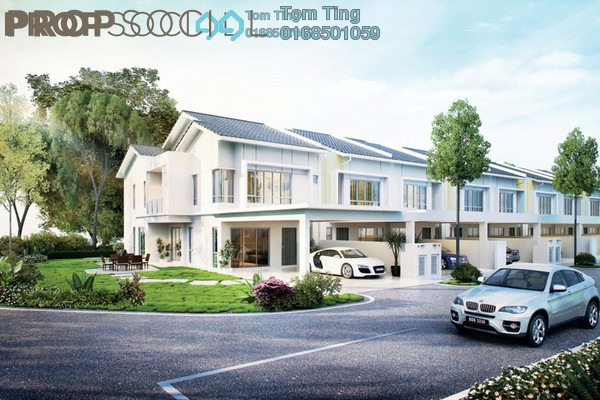 For Sale Terrace at Laman Bakawali Terrace Series 1, Kota Seriemas Freehold Unfurnished 5R/4B 564k