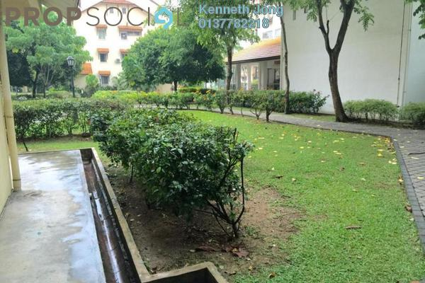 For Rent Townhouse at Villa Flora, TTDI Freehold Semi Furnished 3R/2B 2.5k