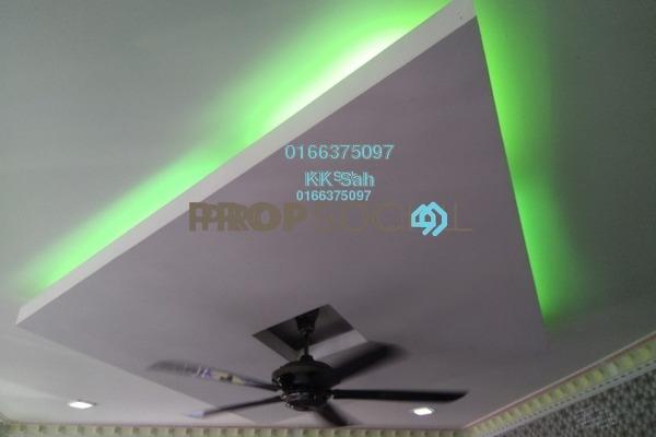 For Sale Terrace at Taman Sentosa, Klang Freehold Semi Furnished 3R/2B 335k